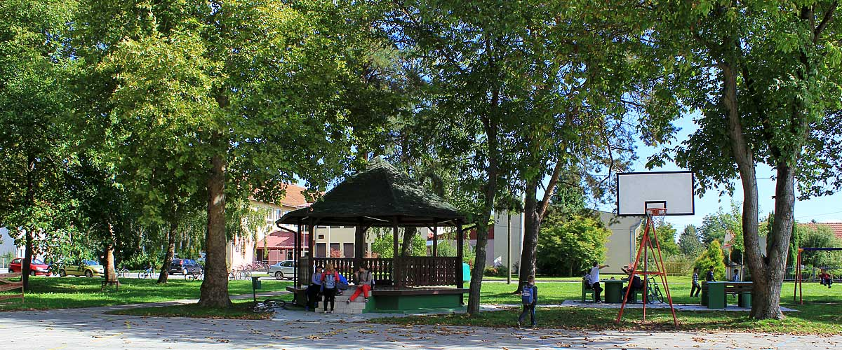 Park u centru Ferdinandovca